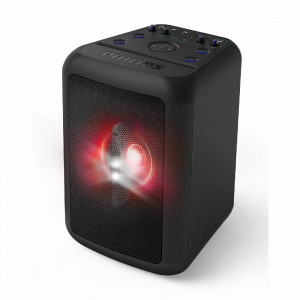 PARLANTE PHILIPS PARTY TANX100/10  BL, USB, IN 3.5, WOOFER 10 80W
